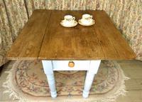Antique Pine Folding Pembroke Kitchen Table (2 of 5)