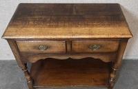 Titchmarsh & Goodwin Small Oak Dresser Base (7 of 8)