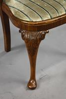 Queen Anne Style Burr Walnut Table & Chairs c.1920 (17 of 22)