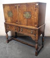 Golden Oak Cocktail Cabinet / Sideboard (3 of 8)