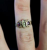 Antique Victorian Amethyst and Pearl Ring, 9ct Rose Gold (10 of 10)