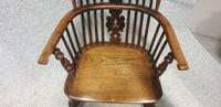 Tall Yew Wood Windsor Chair (5 of 6)