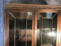 Oak Twist Leg Bookcase (8 of 13)