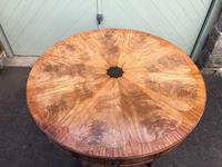 Antique Mahogany Drum Table (5 of 9)