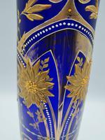 Antique Bohemian Glass Vase (9 of 9)