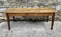 Large French Sycamore & Elm Farmhouse Table (16 of 21)