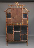 Impressive 19th Century Bamboo Cabinet (22 of 25)