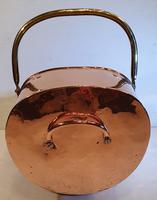 Good Quality 19th Century Copper Coal Scuttle (4 of 5)