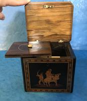 Victorian Italian  Sorento Ware Single Tea Caddy (15 of 16)