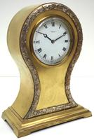 Impressive Ormolu Edwardian Balloon Timepiece Mantel Clock by Preston's Bolton (2 of 11)