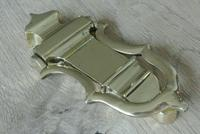 Genuine Victorian Brass Door Knocker & Bolts 7.25 Inches (5 of 5)