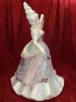 "Rare Coalport Limited Edition Figurine ""Rain"" The Millennium Ball Collection (4 of 9)"