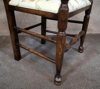Pair Of Oak Ladder Back Armchairs (7 of 9)