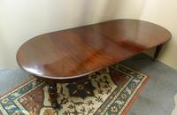 Large Mahogany Dining Table (4 of 7)