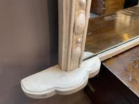 Large 19th Century Painted Overmantle Mirror (8 of 10)