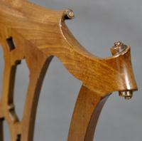 Chippendale Period Cuban Mahogany Side Chair (4 of 6)
