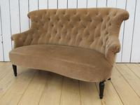 Antique French Napoleon III Button Back Sofa (9 of 9)