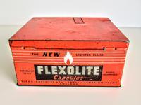 Vintage Advertising Tin for Flexolite  Lighter Fuel Capsules (2 of 10)