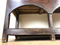 Antique 18th Century Joined Oak Dresser (5 of 10)