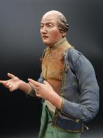 Very Well Modelled & Tall Mid 19th Italian Crib Figure (5 of 5)