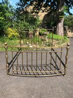 Brass King Size Bed Frame (2 of 7)