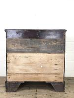 Antique Georgian Oak Chest of Drawers (9 of 10)