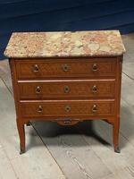 French Parquetry Commode Chest of Drawers (23 of 27)
