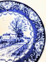 Doulton Burslem  Commemorative Plate - Whittier's Birthplace c.1895 (4 of 9)