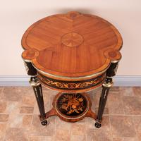 Fine Quality French Marquetry & Ormolu Mounted Occasional Table (9 of 24)