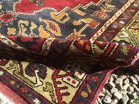 1930's Hand Woven Turkish Karapinar Rug (5 of 6)