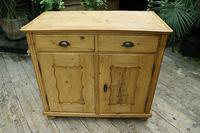 Old Georgian Pine Dresser Base / Sideboard / Cupboard / Cabinet - We Deliver! (2 of 10)
