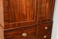 Lovely George III Mahogany Linen Press (7 of 8)