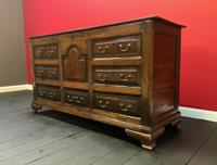Beautiful 18th Century Georgian Period English Country Oak Mule Chest Sideboard Cabinet (3 of 19)