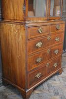 George I Walnut Double Dome Bookcase on Chest (3 of 10)