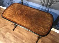Victorian Burr Walnut & Amboyna Centre Table (10 of 14)