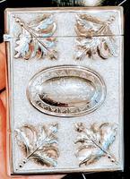 Sampson Mordan Commissioned Invitation Card Case Solid Silver c.1856 (2 of 5)