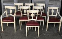 Set of 8 French Directoire Dining Chairs (16 of 16)