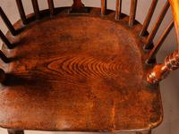 A Set of 4 Yew Tree Windsor Chairs Rockley Workshop (17 of 21)