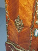 Antique Louis XVI Style Kingwood & Marble Cabinet (9 of 18)