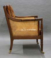 Georgian Mahogany Bergere Chair (5 of 7)