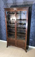Edwardian Mahogany Bookcase (2 of 10)