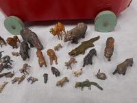 Vintage Wooden Noah's Ark Toy (4 of 8)