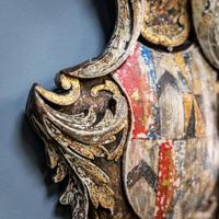 18th Century Painted Cartouche (7 of 9)
