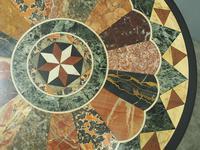 Italian Specimen Marble & Mahogany Table (10 of 12)
