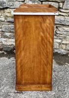 Antique Victorian Satinwood Bedside Pot Cupboard (4 of 16)