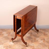 Inlaid Mahogany Edwardian Sutherland Table (3 of 19)