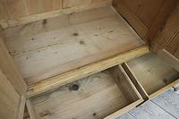 Beautiful Old Pine Triple Knock Down 'Arts & Crafts' Wardrobe  - We Deliver & Assemble! (10 of 18)