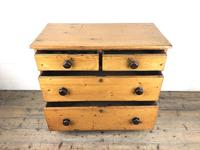 Victorian Pine Chest of Drawers (9 of 13)