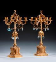 Fine 19th Century French Gilt Bronze Candelabra (4 of 6)