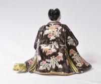 Japanese Kutani Porcelain Statue Male Figurine 1890 (6 of 9)